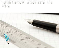 Formation adultes en  Inde