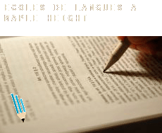 Écoles de langues à  Maple Heights